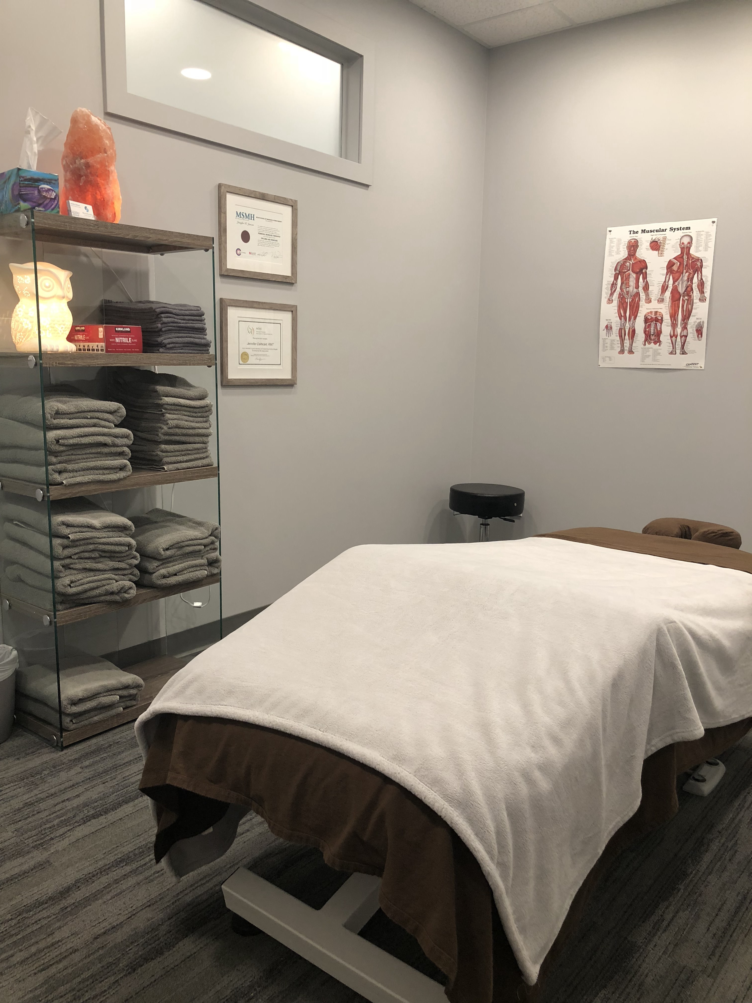 East Regina massage therapy treatment room Massage Theory